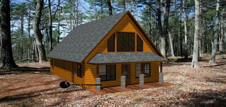 Cabin 3D A