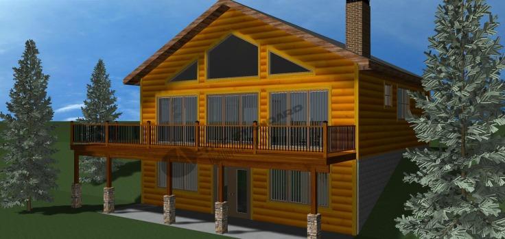 Pine Cabin 01